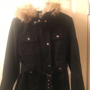 Esprit Jackets & Coats - ESPRIT Winter coat with big furry hoodie!!